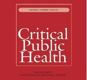 New publication in Critical Public Health