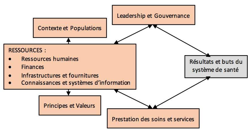 Cadre conceptuel pour analyse de systèmes de soins