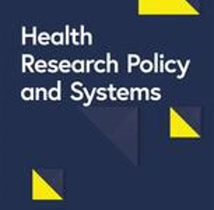 New publication in Health Research Policy and Systems