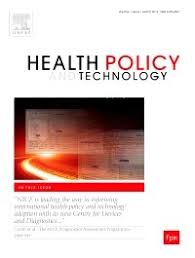 New publication in Health Policy and Technology